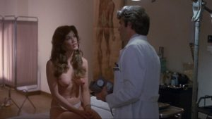 Barbi Benton topless in white panties