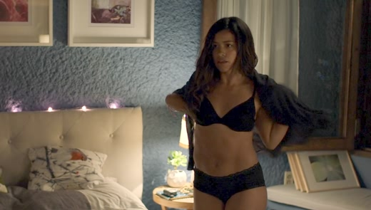 Gina Rodriguez sexy in Miss Bala (2019) 1080p