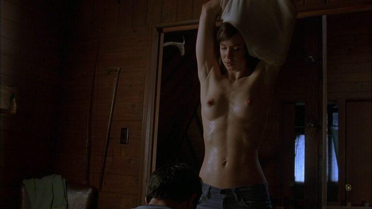 Katherine Waterston undressing