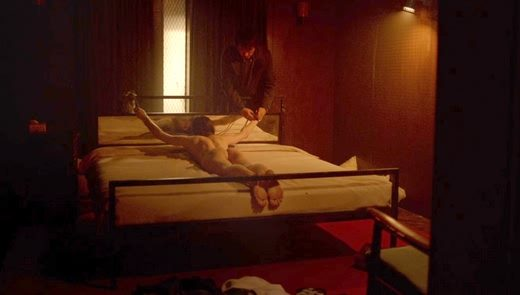 Alexandra Daddario nude in Lost Girls and Love Hotels (2020) 1080p