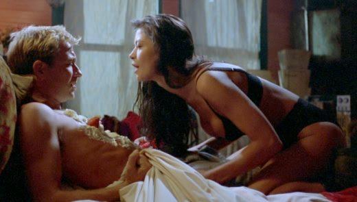 Catherine Zeta-Jones sexy in Blue Juice (1995) 1080p Blu-ray