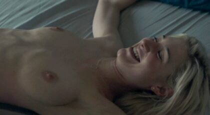 Elizabeth Debicki nude in The Burnt Orange Heresy (2019) 1080p Blu-ray