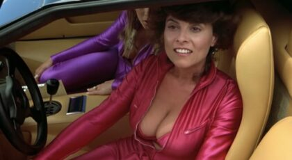 Adrienne Barbeau, etc sexy in The Cannonball Run (1981) 1080p Blu-ray