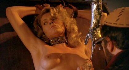 Lana Clarkson, etc. nude in Barbarian Queen (1985) DVDRip