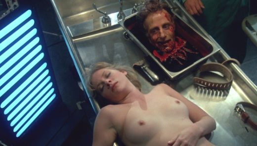 Barbara Crampton nude in Re-Animator (1985) 1080p Blu-ray Remux
