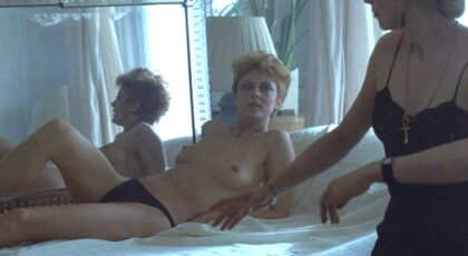 Susan Sarandon, etc. nude in The Hunger (1983) 1080p Blu-ray