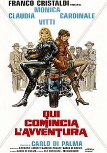 Blonde in Black Leather (1975)