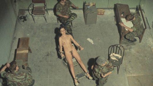 Olga Karlatos nude in Gloria Mundi aka In Hell (1976) 1080p Blu-ray