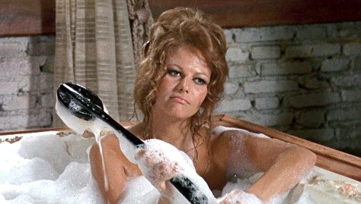 Claudia Cardinale sexy in Once Upon a Time in the West (1968) 1080p Blu-ray
