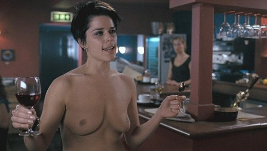 Neve Campbell nude in I Really Hate My Job (2007) 1080p Blu-ray